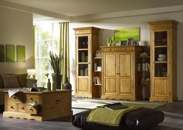 tischtruhe couchtisch landhausstil pinie massiv neu ebay. Black Bedroom Furniture Sets. Home Design Ideas