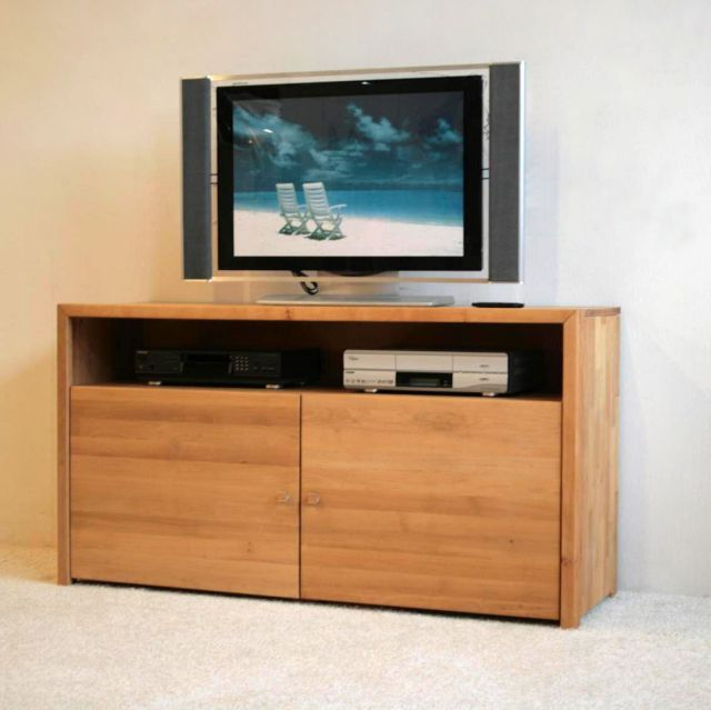 tv anrichte kommode tv schrank red alder erle massiv ebay. Black Bedroom Furniture Sets. Home Design Ideas