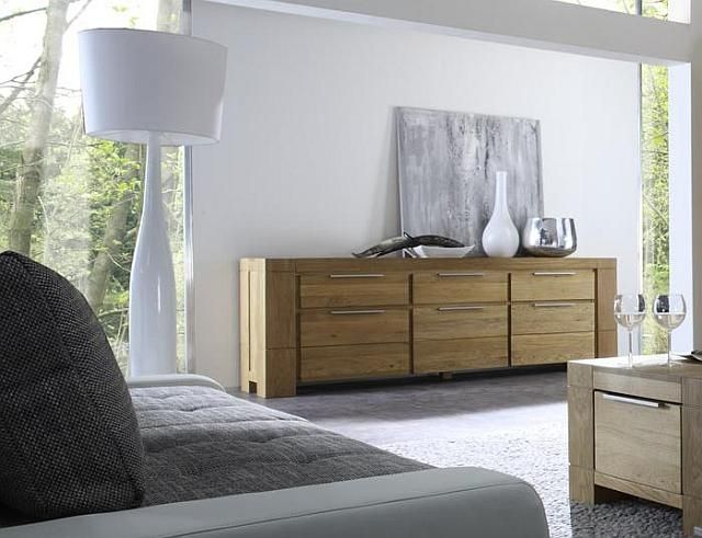 sideboard anrichte farmer deutsche eiche massiv ge lt ebay. Black Bedroom Furniture Sets. Home Design Ideas