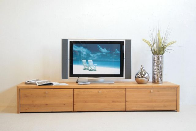 tv anrichte lowboard delta holz red alder erle massiv ebay. Black Bedroom Furniture Sets. Home Design Ideas