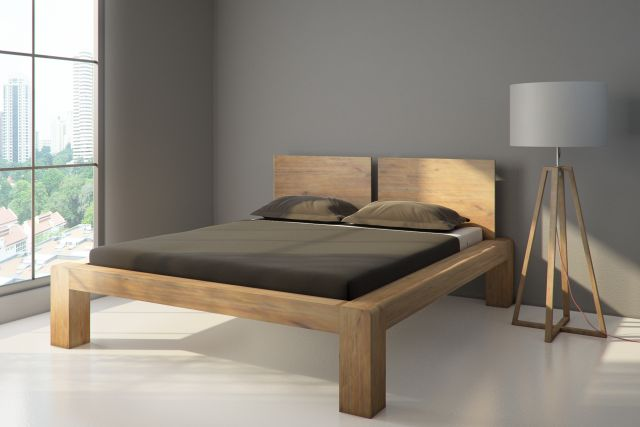 campus futonbett bett holzbett 140 x 200 akazie massiv 02041201 ebay. Black Bedroom Furniture Sets. Home Design Ideas
