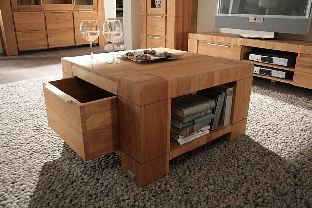 couchtisch eiche massiv ge lt 80 x 80 cm farmer 04040872n ebay. Black Bedroom Furniture Sets. Home Design Ideas
