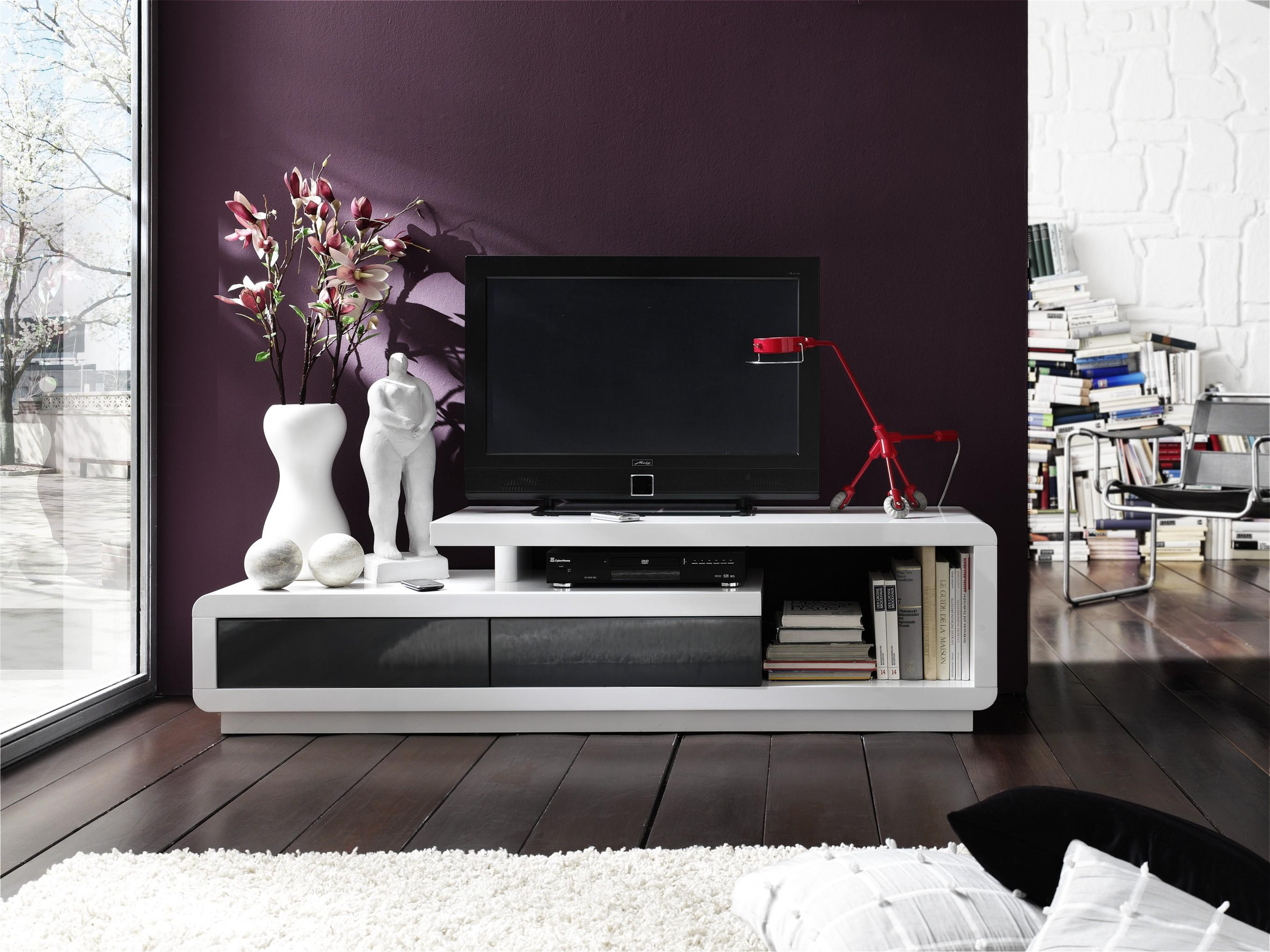 tv lowboard hochglanz wei lackiert celina 9811 59052. Black Bedroom Furniture Sets. Home Design Ideas
