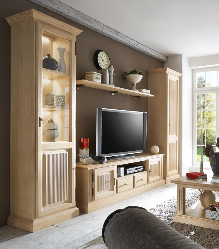 tv wohnwand pinie massiv cadiz fakta m bel. Black Bedroom Furniture Sets. Home Design Ideas