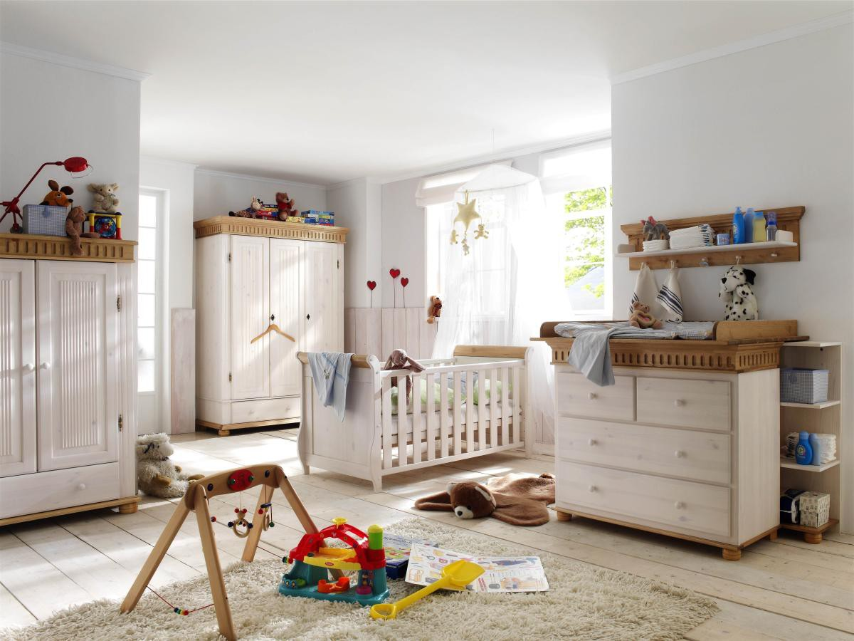 babyzimmer helsinki kiefer massiv landhausstil. Black Bedroom Furniture Sets. Home Design Ideas