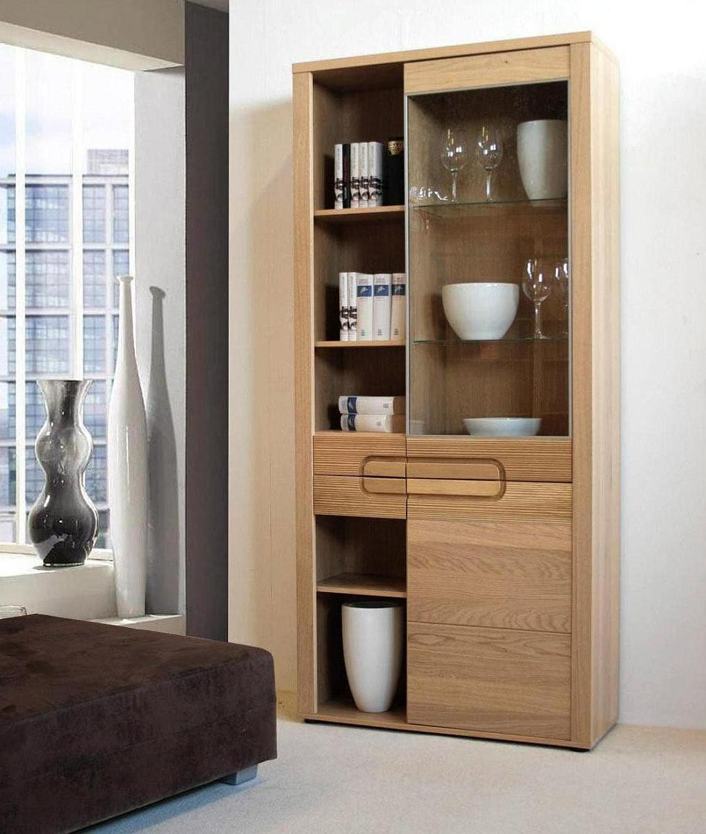 vito vitrine und regal eiche zum kleinen preis. Black Bedroom Furniture Sets. Home Design Ideas