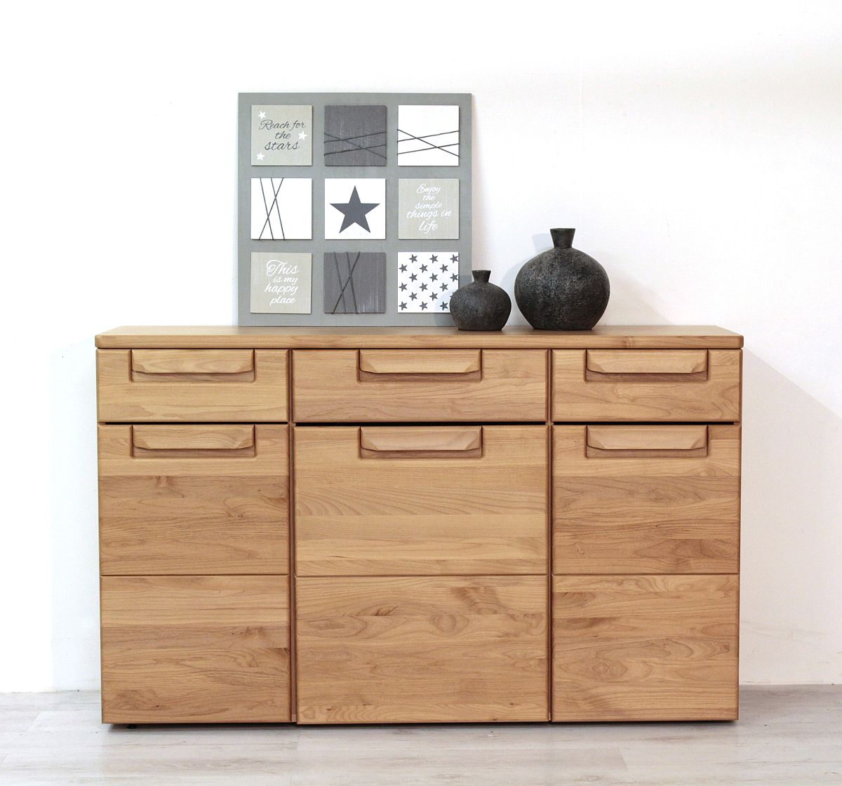 sideboard anrichte hochschrank kanadische erle massiv orig. Black Bedroom Furniture Sets. Home Design Ideas