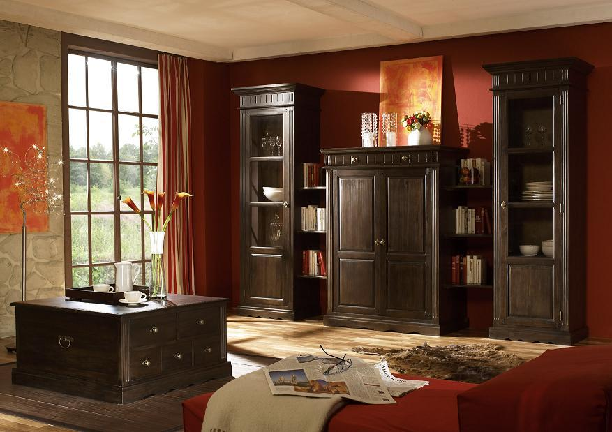 vitrine kolonialstil sonstige preisvergleiche. Black Bedroom Furniture Sets. Home Design Ideas