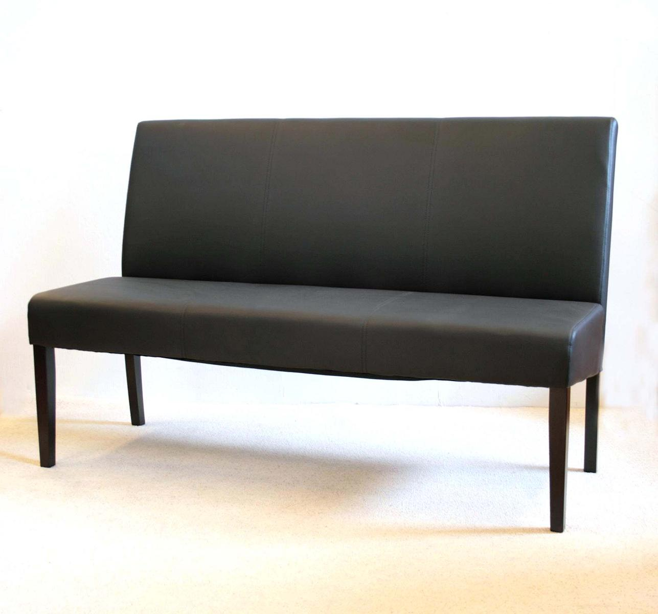 elektra sitzbank textilleder schwarz kolonial 150 cm ebay. Black Bedroom Furniture Sets. Home Design Ideas