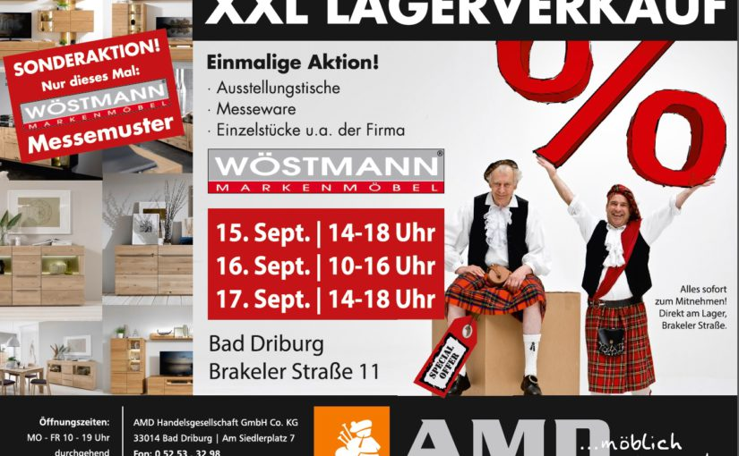 xxl lagerverkauf w stmann messemuster g nstig bei amd kaufen. Black Bedroom Furniture Sets. Home Design Ideas