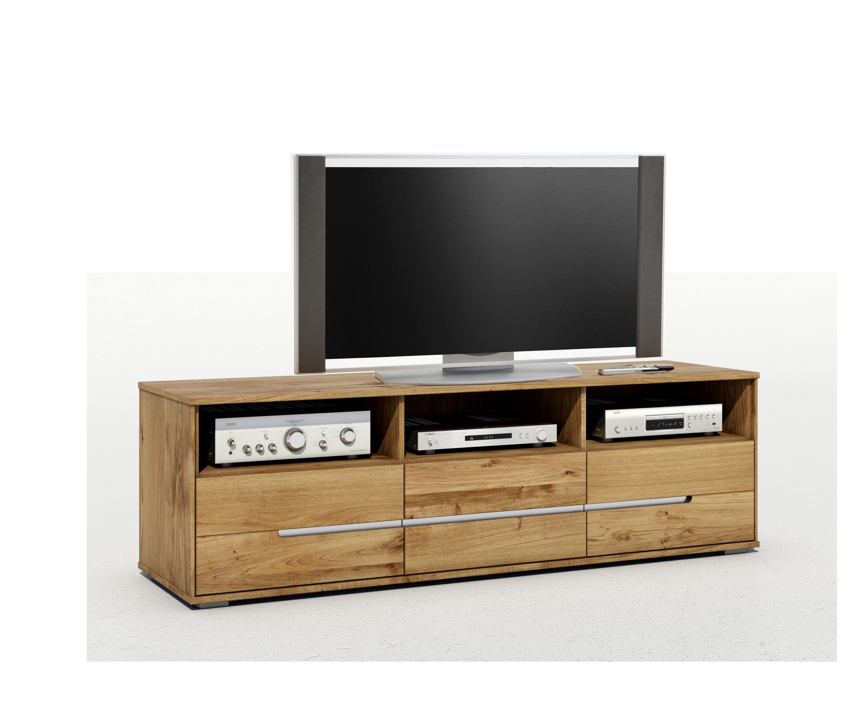 tv kommode wildeiche massiv ge lt lissy fernsehschrank. Black Bedroom Furniture Sets. Home Design Ideas