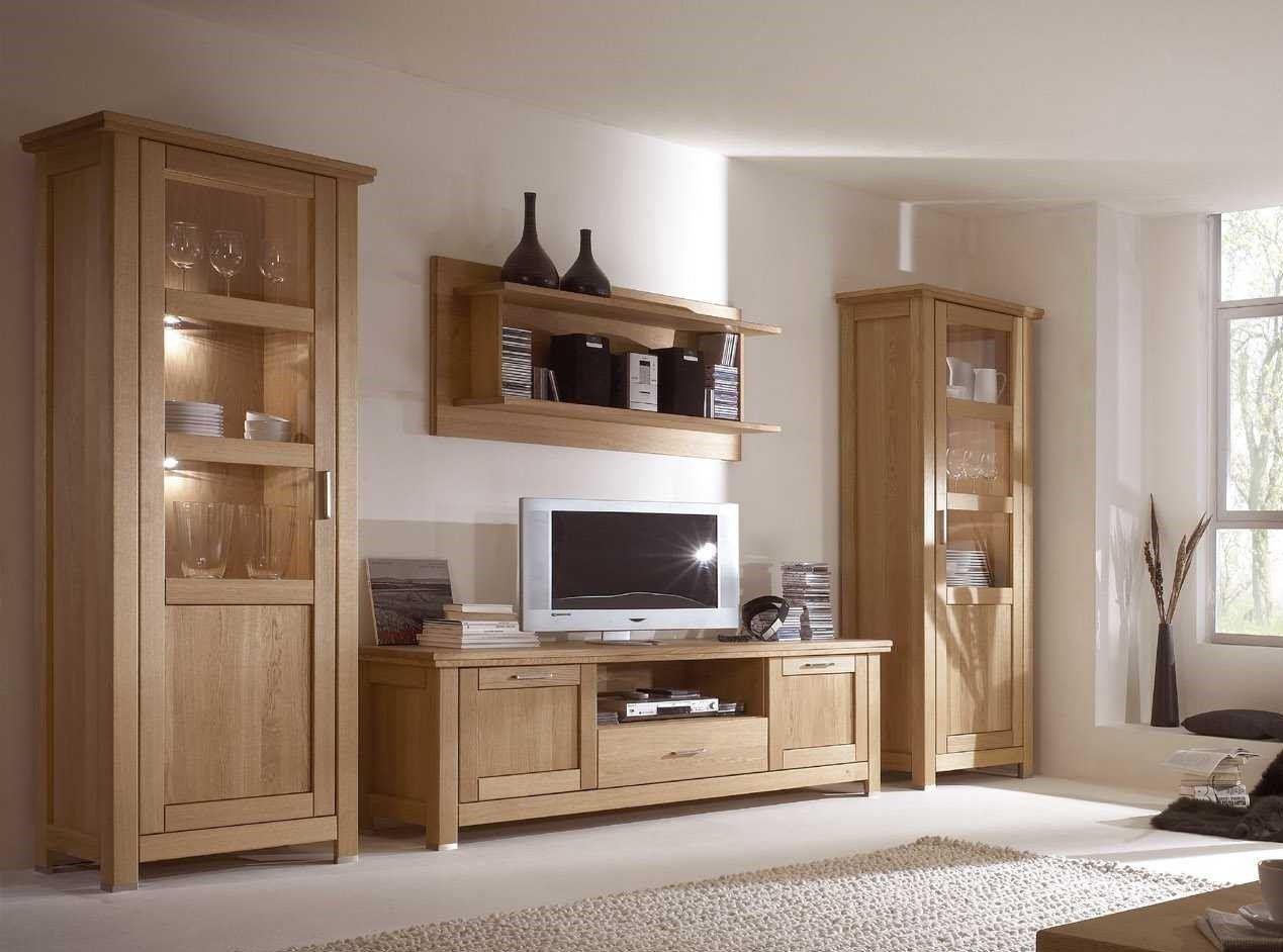 tv wohnwand eiche massiv ge lt porto neu eingetroffen 9802 0990. Black Bedroom Furniture Sets. Home Design Ideas